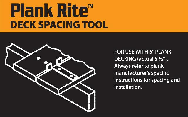 Decking spacing fastening tools